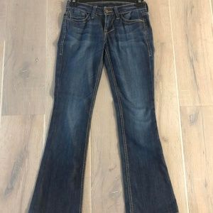 William Rast Low-Rise Denim Flares